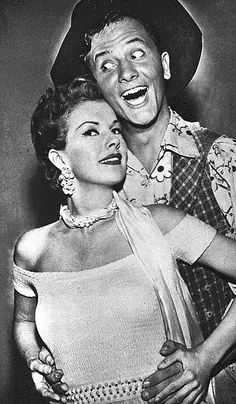 "Pat Boone making a strange appearance on Gale Storm's TV show, ""Oh!  Susanna!""  (TV Parade, 1957)"