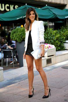 trendy_taste-look-outfit-street_style-ootd-blog-blogger-fashion_spain-moda_españa-starbucks-frapuccino-saint_laurent-falda_cuero-leather_ski...