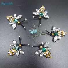 Cheap beaded patches, Buy Quality bee patch directly from China patch bee Suppliers: Gypsophila 5PCS/LOT Bee Applique Bee Patches Beaded Applique Beaded Bee Patch Bee Beads Patch DIY Accessoy Clothing Applications