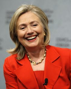 Hillary Clinton - an inspiration - dedicated, hardworking, brilliant and more to come!