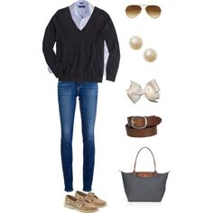 """""""Chilly Weather"""" by preppy-otd on Polyvore"""