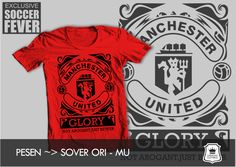"Kaos GLORY MANCHESTER UNITED ""NOT AROGANT, JUST BETTER"" [READY STOCK]"