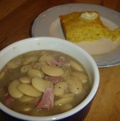 Lima beans - closest I could find to what Mom makes (need to add stewed tomatoes)