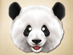 free printable monkey masks for kids   panda mask added in animal masks masks for kids masks for men masks ...