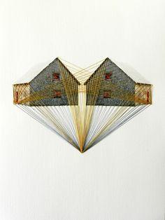 Lonely Houses    Art from Happy Red Fish - Dutch artist and designer Hagar Vardimon-van Heummen.