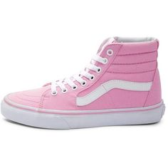 Vans Sk8 Hi Skate Shoe ($99) ❤ liked on Polyvore featuring shoes, sneakers, lacing sneakers, skate shoes, rock shoes, high top shoes and vans shoes