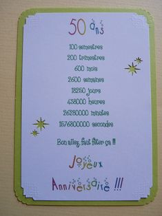Visit the post for more. Mum Birthday, Party Invitations, 50th, Bullet Journal, Activities, Cards, Document, Crayon, Buffet