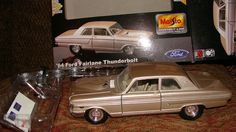 1964 FORD FAIRLANE THUNDERBOLT MAISTO 1:24TH metal color bronze (ish) -