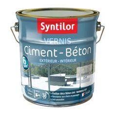 Vernis ciment extérieur / intérieur Ciment SYNTILOR, incolore, 2.5 l