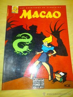 LAS AVENTURAS DE CLEOPATRA , MACAO.MIQUE BELTRAN - EDITORIAL COMPLOT (Tebeos y Comics Pendientes de Clasificar)