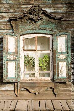 Деревянный наличник Иркутска №26