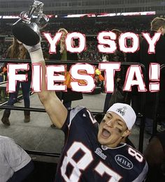 """Gronk -- """"Yo Soy Fiesta!"""""""