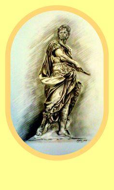 Marcel Gallik, drawing, pencil, A3 Roman Emperor, Drawing Skills, Best Artist, Marcel, Art Education, A3, My Drawings, My Arts, Pencil
