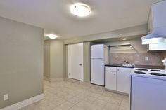 This lower level, with open concept living/dining area, makes this space perfect for a student or someone looking for a small space. Open Concept, Dining Area, Small Spaces, Basement, Home Appliances, The Unit, Student, House Appliances, Root Cellar