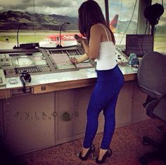 Beautiful Russian Air Traffic Controller - Aviation Videos & Pictures