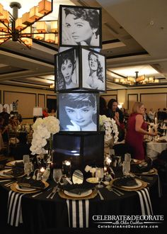 Old Hollywood glam - table center piece. Description from pinterest.com. I searched for this on bing.com/images