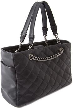 FOREVER 21+ Faux Leather Quilted Satchel