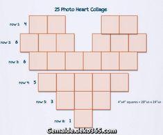 Luxuriöse Collage of hearts - Einfache Probe habe ich nachher kurzer Suche nicht gesehen ... #collage #einfache #hearts #kurzer #nachher #probe #suche