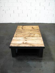 Table basse plateau