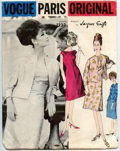 1960s Jacques Griffe Vogue Paris Original 1232 by GreyDogVintage, $65.00