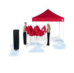 For outdoor events canopy is the essential, Your text, web, cell and your logo could be imprinted on them, also easy pop up and carry!