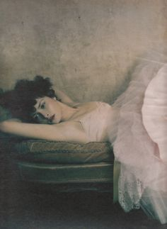 """Madame"". Tasha Tilberg by Paolo Roversi for W May 2001"