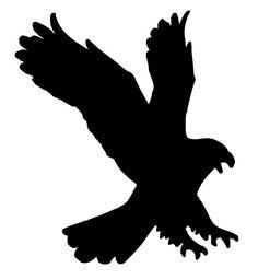 Stencil Aquila Eagle SVG PNG PDF download file da taglio per plotter da taglio di ELMArtDesign su Etsy