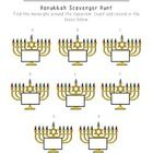 A Hanukkah themed Scavenger Hunt. Students will move around the classroom while practicing 1-1 correspondence and number writing.   Enjoy, follow m...