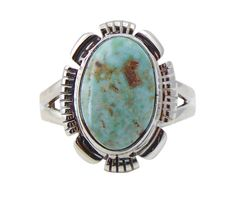 Navajo Dry Creek Turquoise Ring Size 7 Handcrafted,Native American Ring,Women's Ring,Handmade, gift for mom, Authentic Indian Jewelry