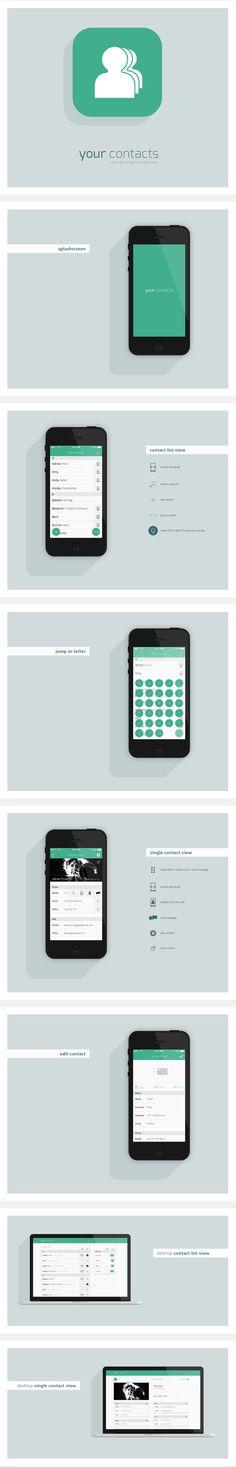 Kontaktmanager App
