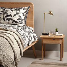 Buy John Lewis Viva Bedside Table, Oak Online at johnlewis.com