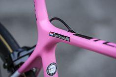 Giant TCR | Giro d'Italia | Team Sunweb - A closer look at Giant Bicycles pink #Giro100 TCR.   teamsunweb.com/pink-tcr