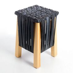 Bike tube stool/small table:
