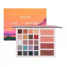 Moira Destiny Palette You, I Desire Eye & Face Palette Shadow, Blush & Highlight Shadow Face, Shadow 2, Pro Glow Foundation, Revlon Colorstay Foundation, Face Palette, Makeup Beauty Box, Milani Cosmetics, Eye Palettes, Make Up