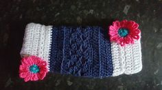 1st crochet twiddle muff for dementia