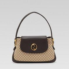 251811 Fagkt 9643 Gucci 1973 Medium Umh?ngetasche mit Doppel-G Det Gucci Damen Handtaschen