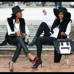 Nigerian Girls. #SaltyAndSweet #AllAboutBusinessANDplayful #FashionistasUsually
