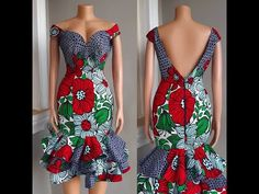 Lets See These Amazing and Sexy Ankara & Asoebi Styles Catalogue For African Woman: Latest African Fashion Styles They are one of t. Nigerian Dress Styles, African Dresses For Kids, African Print Dresses, African Print Fashion, African Attire, African Wear, African Women, African Outfits, Latest African Styles