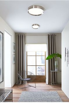 Sophisticated yet simple, the Bespin flush mount ceiling light from Tech Lightin... - http://centophobe.com/sophisticated-yet-simple-the-bespin-flush-mount-ceiling-light-from-tech-lightin/ -