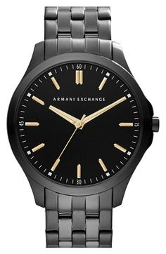 AX Armani Exchange Round Bracelet Watch, 45mm available at #Nordstrom