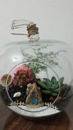 #succulents #terrarium #succulent #diy