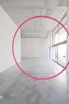 No úplně to vidím, jak nám tam visí ty růžový kruhy! :)