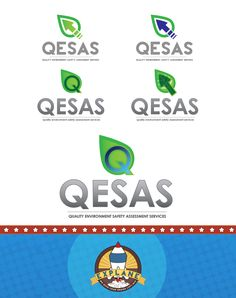 Logo Development for QESAS - An auditing and assessment company for environment and safety processes