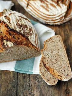 Sourdough Bread, Food And Drink, Baking, Breads, Rustic, Brot, Yeast Bread, Bread Rolls, Country Primitive
