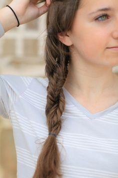 Double Fishtail Twist   Cute Girls Hairstyles