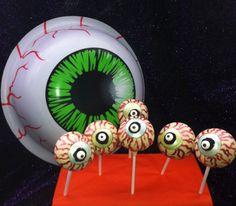 Eyeball #Pops Unique #Cakepops #wickedpops