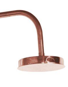 Shower bathroom faucet in copper color Copper Room, Copper Bathroom, Bathroom Faucets, Modern Bathroom, Bathroom Showers, Copper Shower Head, Bellevue House, Shower Valve, Shower Remodel