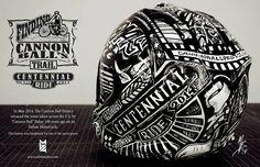 Cannonball Baker Helmet, Melissa Breitenfeldt 2014