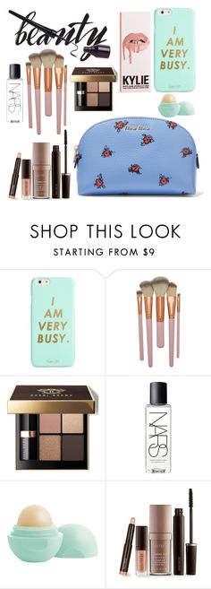 """""""Untitled #87"""" by where-beauty-beats ❤ liked on Polyvore featuring beauty, ban.do, Bobbi Brown Cosmetics, NARS Cosmetics, Eos, Laura Mercier and Miu Miu"""