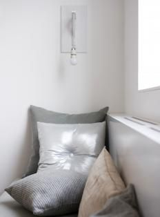 Metallic cushions #homeware #inspiration